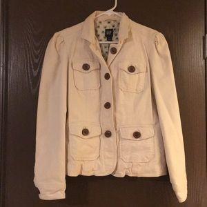 Gap spring corduroy jacket